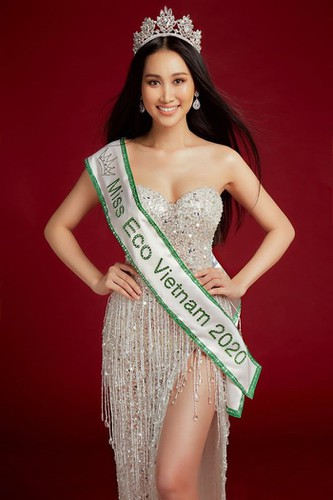 doan hong trang set to compete for miss eco international 2020 crown hinh 1