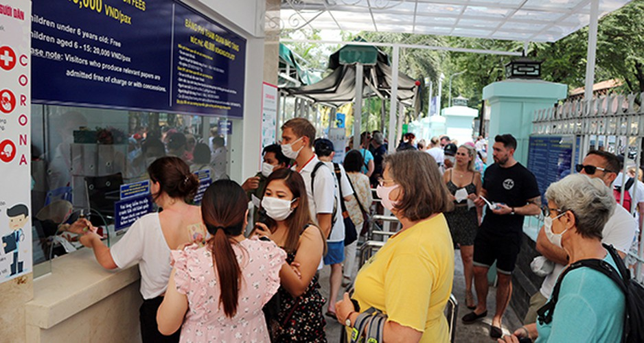 relic sites in hcm city prove popular with foreigners following re-opening hinh 1
