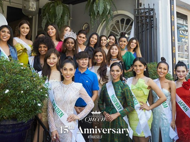 hoai sa dresses in ao dai for activities at miss international queen 2020 hinh 9