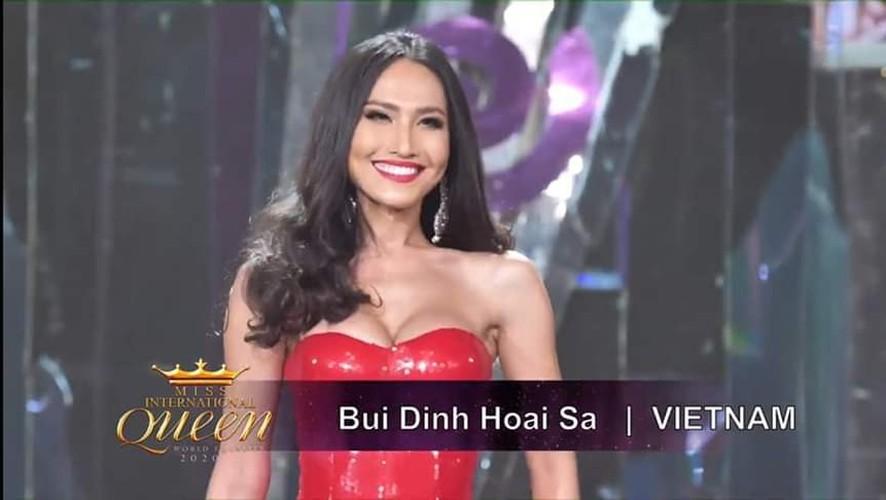 hoai sa shines as miss international queen 2020 reaches semi-final stage hinh 1
