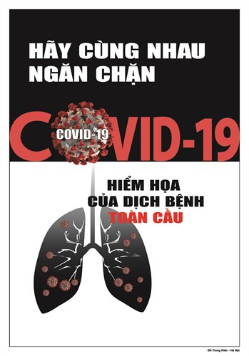 public posters about fight against covid-19 unveiled hinh 10