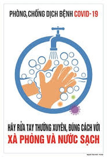 public posters about fight against covid-19 unveiled hinh 1