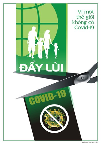 public posters about fight against covid-19 unveiled hinh 5