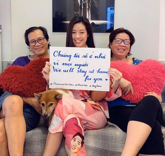 vietnamese celebrities call on people stay at home to combat covid-19 hinh 4