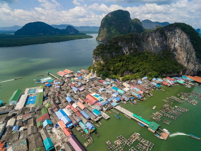 vietnamese settlement listed among global incredible floating villages hinh 15