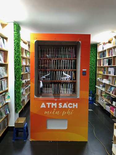 free book atm machine makes debut in hanoi hinh 4