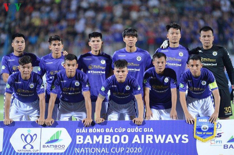 hanoi fc into quarter-finals of national cup 2020 hinh 1
