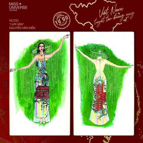 impressive costume designs revealed for khanh van at miss universe hinh 10