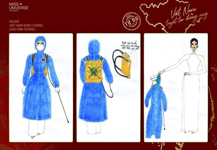 impressive costume designs revealed for khanh van at miss universe hinh 1