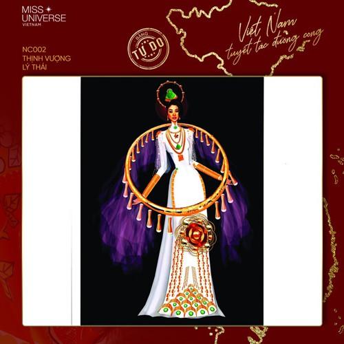impressive costume designs revealed for khanh van at miss universe hinh 2