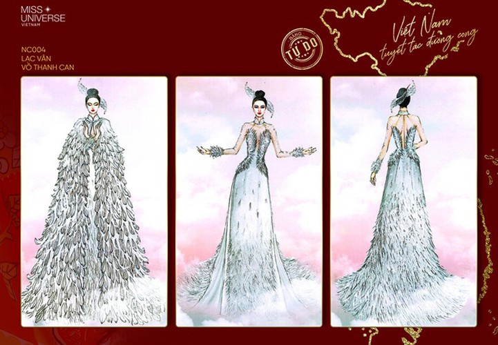 impressive costume designs revealed for khanh van at miss universe hinh 4