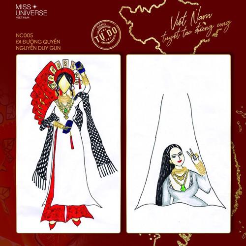 impressive costume designs revealed for khanh van at miss universe hinh 5