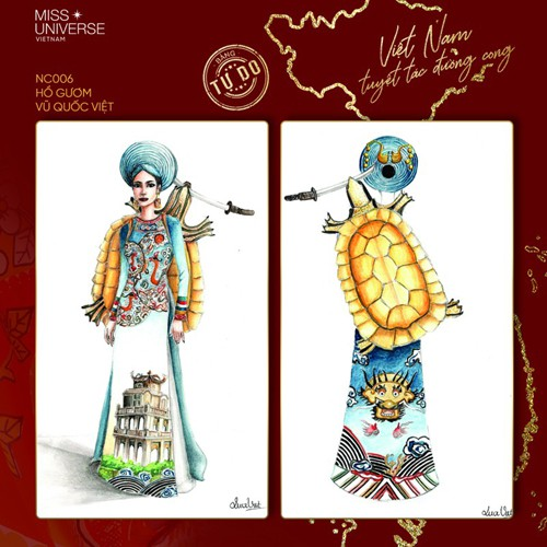 impressive costume designs revealed for khanh van at miss universe hinh 6