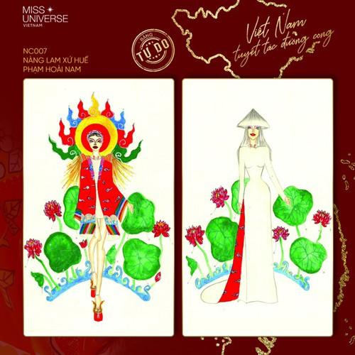 impressive costume designs revealed for khanh van at miss universe hinh 7