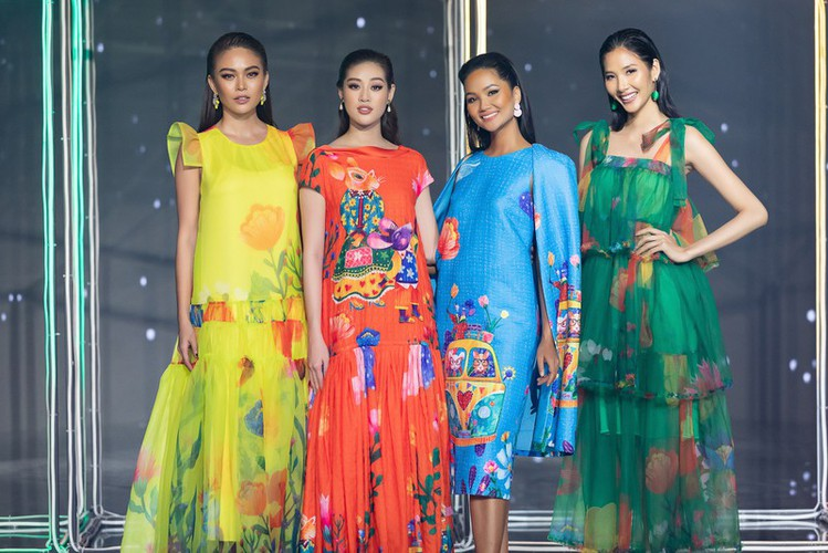 beauty queens return to fashion show following covid-19 epidemic hinh 8