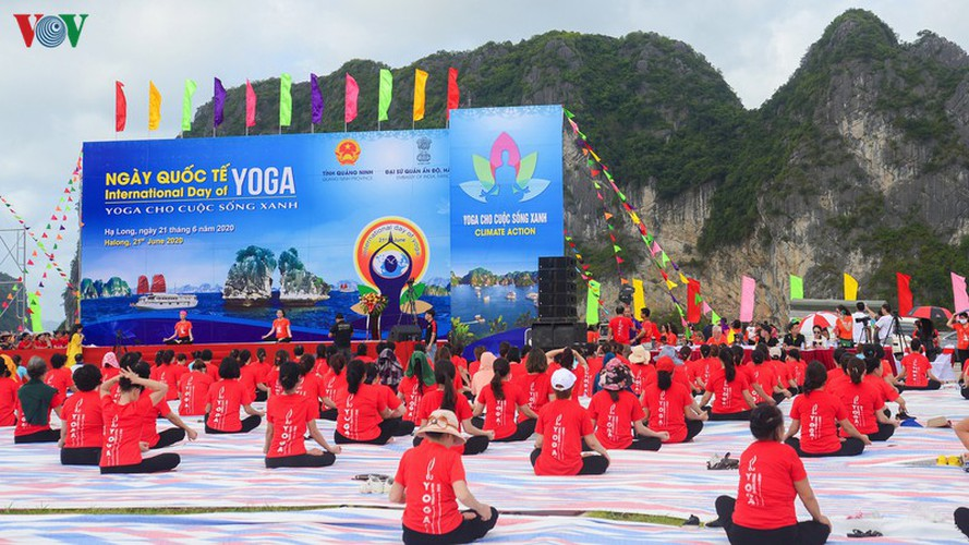 thousands enthusiastic about yoga day in ha long city hinh 10