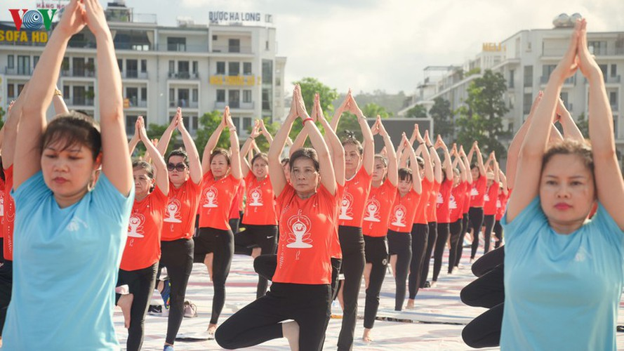 thousands enthusiastic about yoga day in ha long city hinh 8
