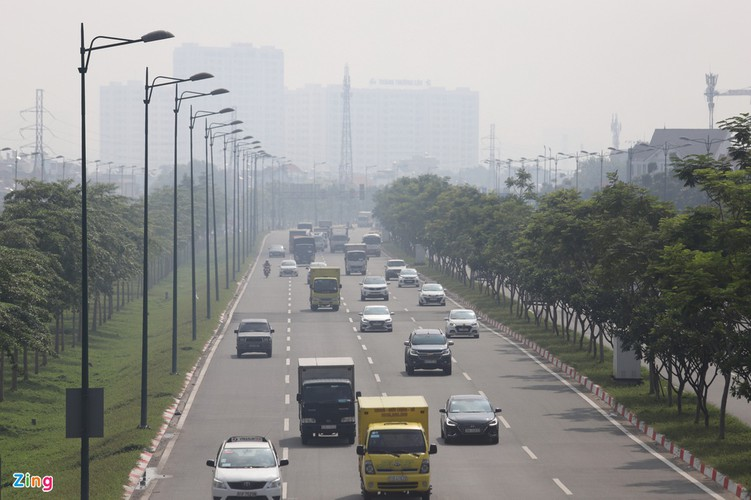 hcm city left gloomy amid heightened levels of air pollution hinh 8