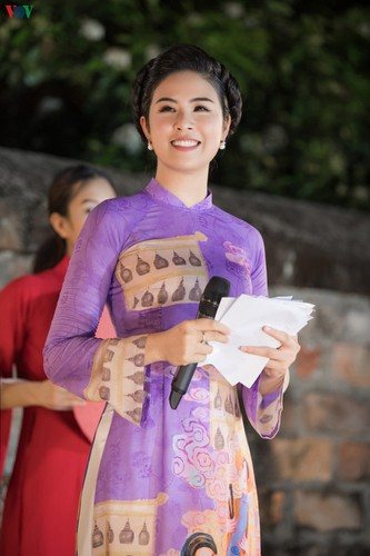 ao dai displaying vietnamese cultural heritage on show in hanoi hinh 10