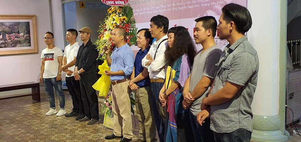arts exhibition connects vietnamese painters nationwide hinh 1