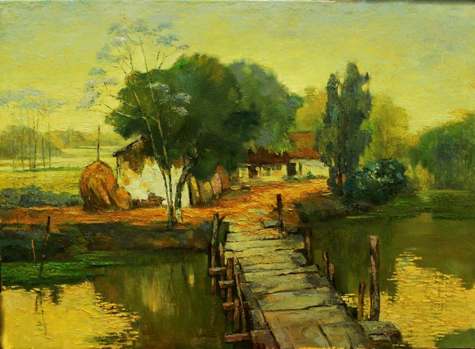 arts exhibition connects vietnamese painters nationwide hinh 7