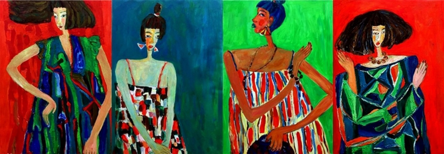 arts exhibition connects vietnamese painters nationwide hinh 9