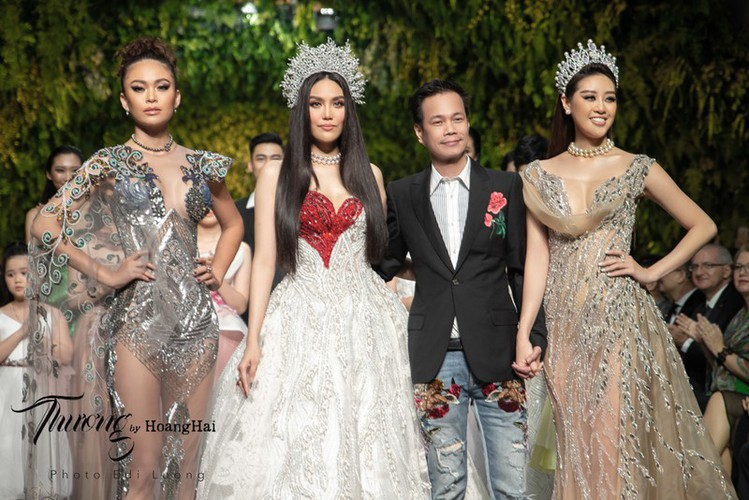 beauty queens gather for fashion show by designer hoang hai hinh 10