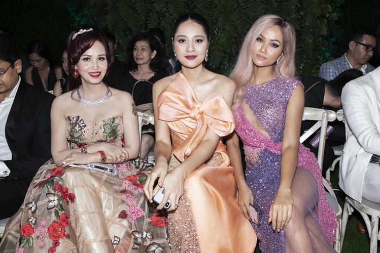 beauty queens gather for fashion show by designer hoang hai hinh 11