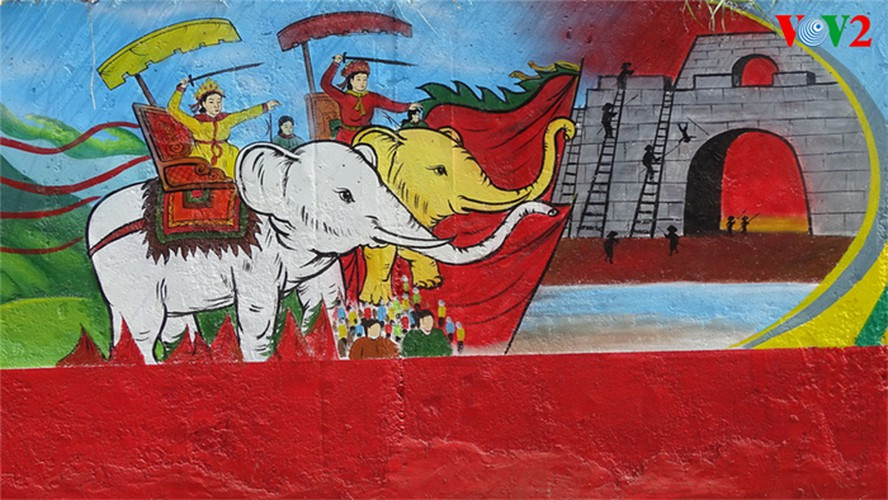 fascinating murals on show in hanoi hinh 3