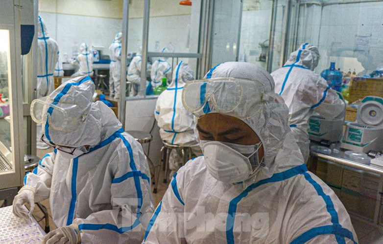 hard-working technicians at da nang lab seek covid-19 infection cases hinh 3