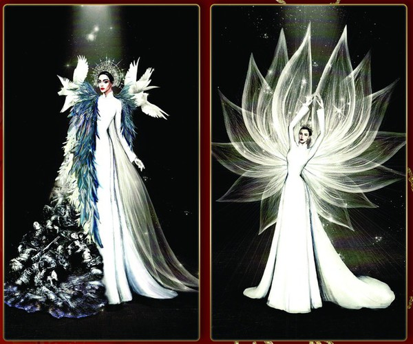 leading costume designs for khanh van at miss universe announced hinh 2