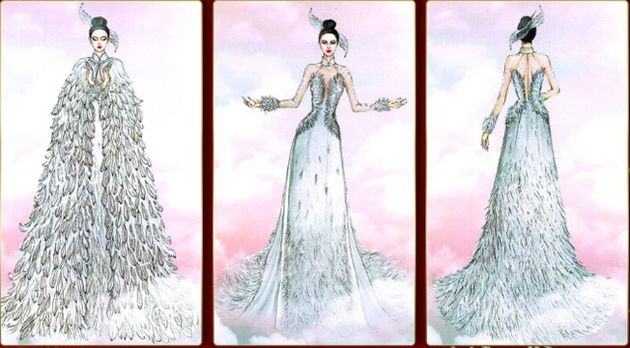 leading costume designs for khanh van at miss universe announced hinh 4