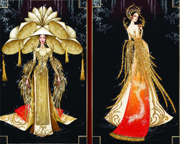 leading costume designs for khanh van at miss universe announced hinh 7