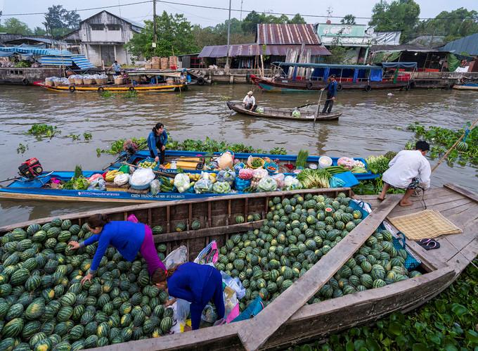 exploring popular nga nam floating market in western region hinh 8