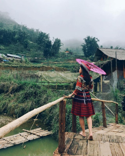 exploring stunning cat cat village in sapa hinh 2
