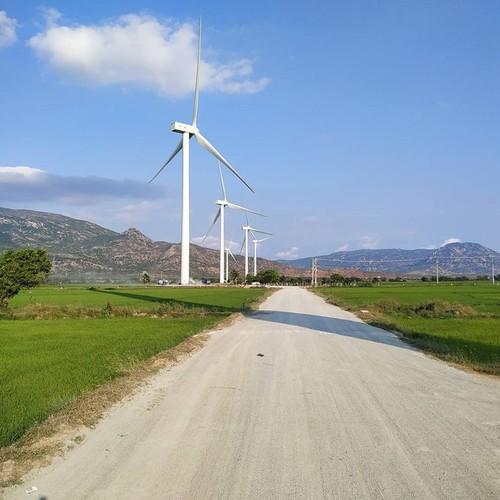 dam nai wind farm in phan rang proves a hit among young travelers hinh 5
