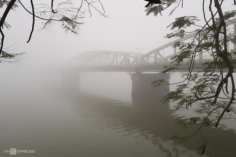 a view of hue's stunning architecture amid foggy conditions hinh 5