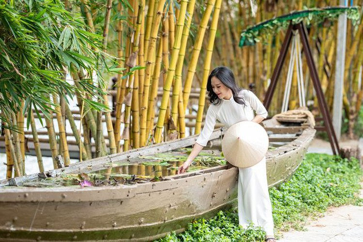young people flock to unique bamboo forest in quang nam hinh 8
