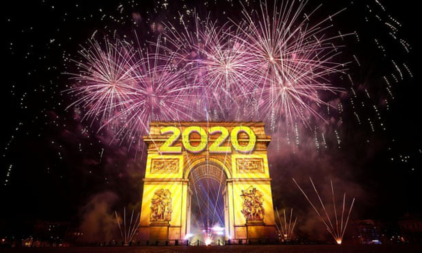jubilant scenes as revelers around the world celebrate the new year hinh 12