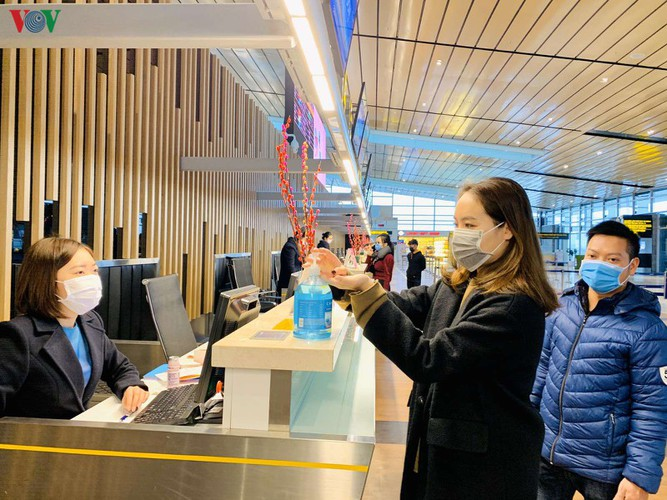 van don airport prepares for arrival of vietnamese citizens from ncov epidemic areas hinh 2