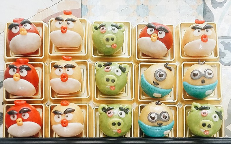 animal-shaped mooncakes create 'fever' among domestic market hinh 2
