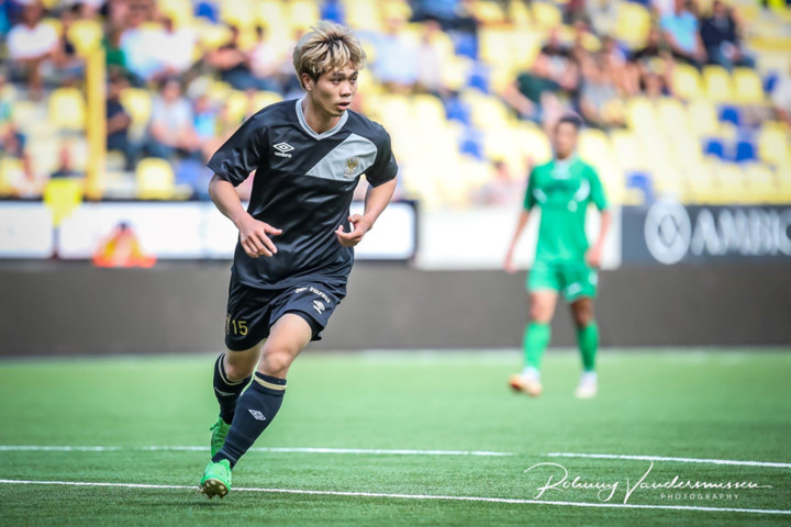 cong phuong makes debut for belgian side in pre-season friendly hinh 3