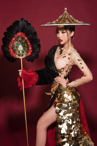 miss international globe 2019 national costume revealed hinh 1