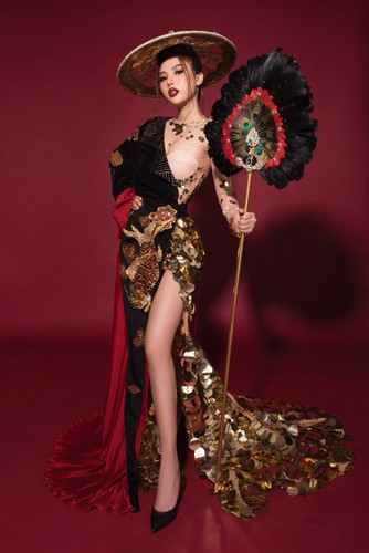 miss international globe 2019 national costume revealed hinh 3