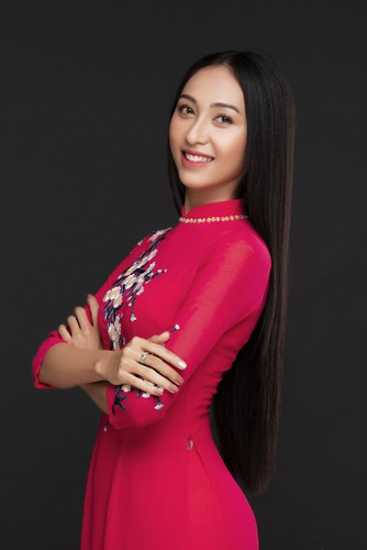 thu hien to represent vietnam at miss asia pacific international hinh 2