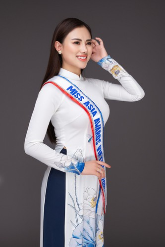 ha vi vi set to compete in miss asia award 2019 beauty pageant hinh 3