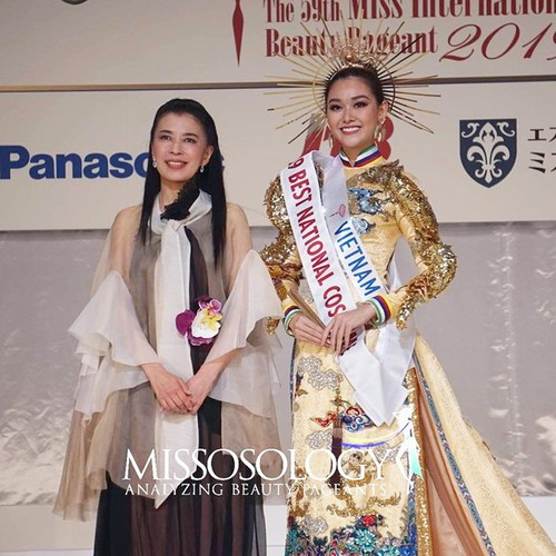tuong san claims national costume win at miss international 2019 hinh 6