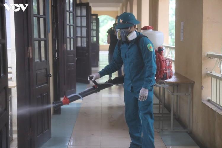 hanoi disinfects exam sites to mitigate covid-19 risk hinh 16