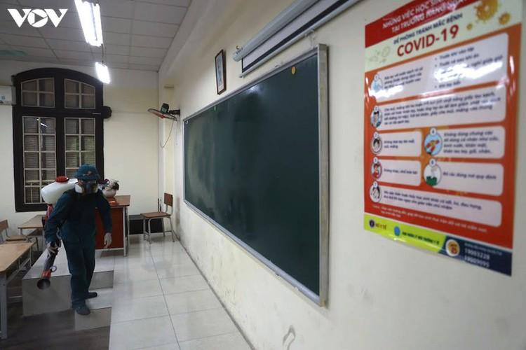 hanoi disinfects exam sites to mitigate covid-19 risk hinh 5