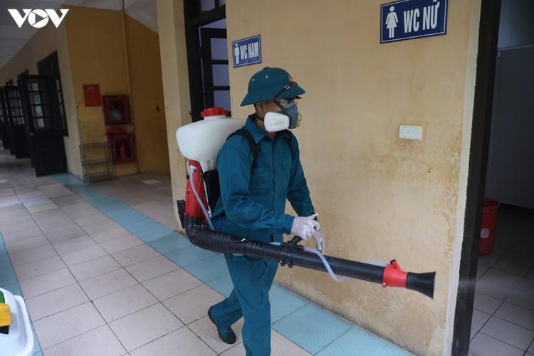 hanoi disinfects exam sites to mitigate covid-19 risk hinh 9